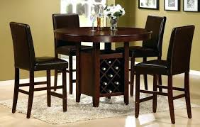 Tall Round Kitchen Table Set High Top Dining Room Sets Best Unique