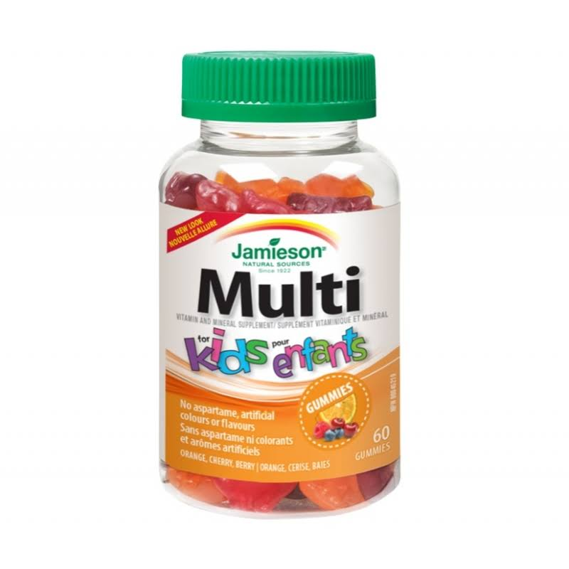 Jamieson Multiviamin Gummies for Kids 60 Gummies