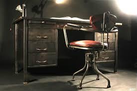 bureau strafor bureau en metal excellent bureau en metal with bureau en metal