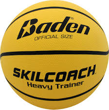 Baden SkilCoach Heavy Trainer Rubber Basketball (29.5