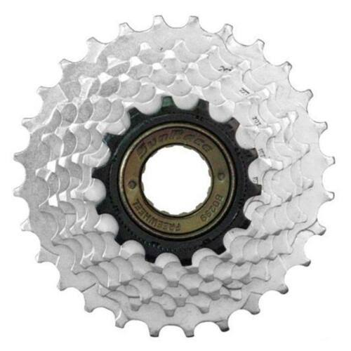 Sunrace 14-28T 6 Speed Silver Freewheel
