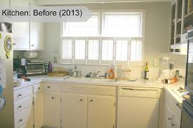 Painting An Old Kitchen Enchanting Chalk Cabinets