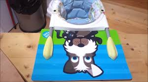 Chicco 360 Hook On Chair With Tray by How To Make A Place Mat For A Chicco 360 Table Highchair Youtube