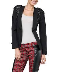 giannini black sequin shoulder blazer designer jackets sale