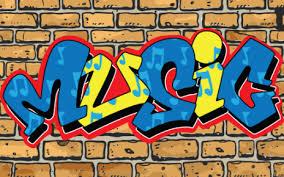 How To Draw Graffiti Word Art Music