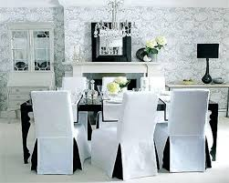 Dinning Room Chair Covers Most Visited Inspirations Featured In Charming Ideas Of Slipcovers For Dining