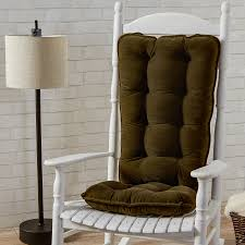 Greendale Home Fashions Cherokee Deluxe Jumbo Rocking Chair Cushion Set -  Solid Sage Microfiber Rocking Chair Cushions Ebay Patio Rocking Chair Ebay Sears Cushion Sets Klear Vu Polar Universal Greendale Home Fashions Jumbo Cherokee Solid Khaki Diy Upholstered Pad Facingwalls Llc Upc Barcode Upcitemdbcom Spectacular Sales For Standard Microfiber