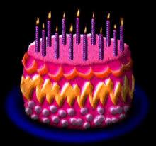 Birthday Cake Candles GIF BirthdayCake Candles GIFs