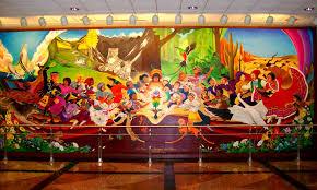 Denver Airport Murals Conspiracy Theory the judeo masonic denver international airport
