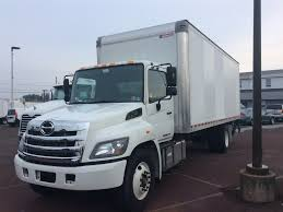 USED 2017 HINO 268A BOX VAN TRUCK FOR SALE #10219