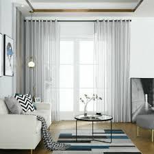 vorhang fenster gadinen tüll volie ösenschal vorhänge modern