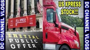 US XPRESS IPO PUBLIC STOCK GROW THE COMPANY / VLOG - YouTube Welcome To The Indianapolis Terminal Of Us Xpress Adventures In Pit Group To Conduct Fuel Efficiency Tests For Trucking Industry Expected See Slower Growth 2019 Transport Usx Stock Price Enterprises Inc Cl A Quote My New Truck At 2015 Freightliner Xpress Enterprises Trucking Youtube Vanguard On Roborecruiting Tandem Thoughts Ep 7 Hammering Down Walmart Dc Wus What Is The Difference In Per Diem And Straight Pay Drivers