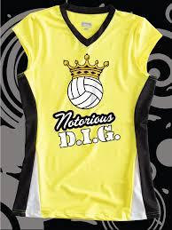 notorious d i g funny design idea for custom volleyball jerseys