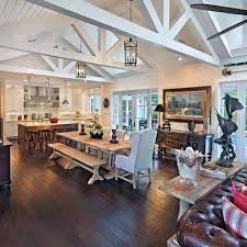 Rustic Open Floor Plans How To Turn Your Dream Home Into A Reality House