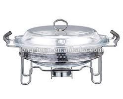 CD404B Glass Lid Chafing Dish And Food Warmer