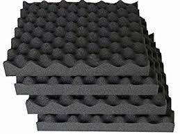 Foam Tile Flooring Uk by Acoustic Foam Treatment Sound Proofing 24 Tiles Amazon Co Uk