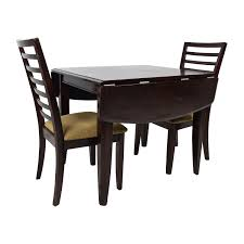 Crate And Barrel Basque Dining Room Set by 45 Off Counter Height Extendable Dining Table With Stools Tables