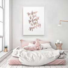 The Dream Is Free Hustle Sold Separately Motivation Handlettered Calligraphic Rose Gold Quote Poster Prints Printable Wall Decor Art