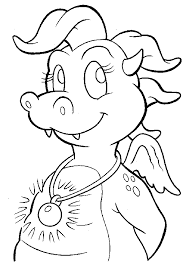 Best Ideas Of Dragon Tales Coloring Pages For Your Example