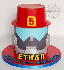 Celebrate With Cake!: Rescue Bot Featuring Heatwave Single Tier Cake