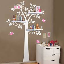 Tree Wall Decor Baby Nursery by Online Get Cheap Tree Wall Shelf Aliexpress Com Alibaba Group