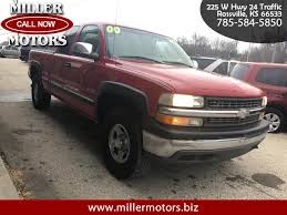 100 2000 Chevy Truck For Sale Used Chevrolet Silverado 1500 For In Rossville KS 66533