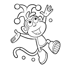 Marvelous Dora Printable Coloring Pages With Educational And Pdf