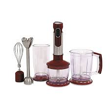 wolfgang puck immersion blender with stainless steel wand and
