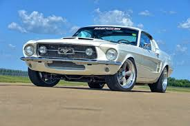 A Terminator powered 1967 Mustang Fastback that s a real Snake in