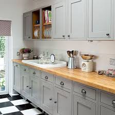 cuisine grise plan de travail bois plan de travail cuisine en 71 photos idées inspirations conseils