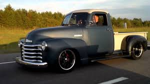 1951 Chevy Truck Cruising - YouTube