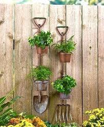 Rustic Garden Tool Planters Art Australia