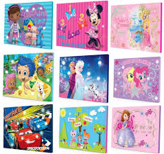 Lalaloopsy Bed Set by Night Light Up Canvas Wall Art Picture Girls Boys Bedding Lighted