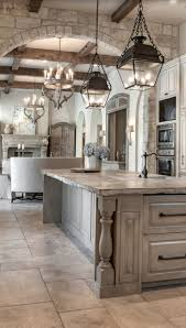 Like The Stone Dream Kitchenthe Floor Tiles Washed Cabinetry Kitchen Lights Nice Old World Look