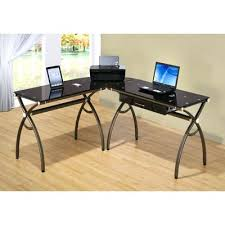 Walmart Computer Desks Canada by Bush Cabot 60 L Shaped Computer Desk With Hutch Walmart L Shaped