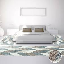 teppich galerie bettumrandung teppich läufer modern