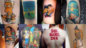 Best Halloween Episodes Of The Simpsons by The Top 50 U0027best Simpsons Tattoos U0027 Of 2015 Four Finger Discount