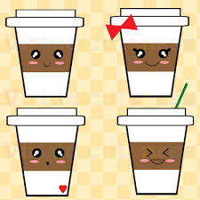 Cute Sticker Starbucks Clipart