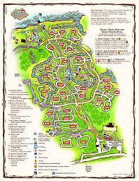 Disney Resorts Fort Wilderness Resort & Campground map