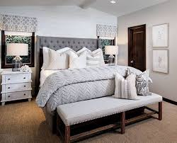 Neutral Bedroom With Shiplap Accent Wall Ideas
