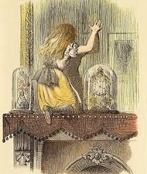 de l autre côté du miroir et ce qu y trouva vikidia l