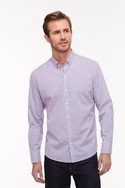 100 Drozdov Zachary Prell LS Button Down Shirt In Pink S18S037BL