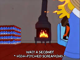 Animated GIF Homer Simpson Episode 4 Fire Share Or Download Dumb