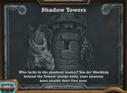 tavern brawl shadow towers hearthstone top decks