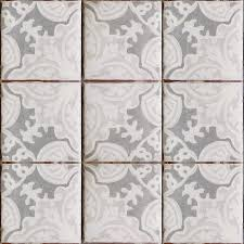 Antique Terra Cotta Tile Featured On The Diy Network Show I by Simply Elegant Terracotta Tile Oxford U0026 Gray On Off White Get It