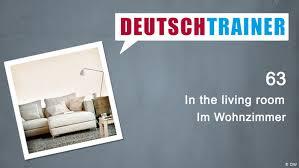 63 im wohnzimmer deutschtrainer lektionen dw 25 09 2018