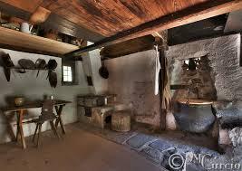 Farm House Inside Kitchen Cottage Farmhouse Interior Old Rural Switzerland