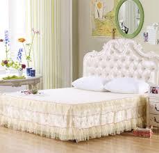 Bedroom Bed Skirts Queen Purple Bed Skirt Queen