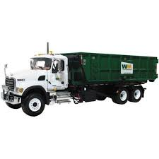 Mack WM Granite Roll Off Refuse Garbage Truck 1/34 #19-3441A By ...