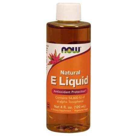 Now Foods Natural E Liquid Antioxidant Protection - 120ml